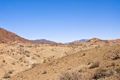 À l'intérieur montagnes Image libre de droits