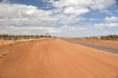 À l'intérieur route Photos stock