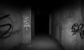 À l'obscurité Photographie stock libre de droits