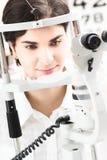 À l'opticien Photos stock