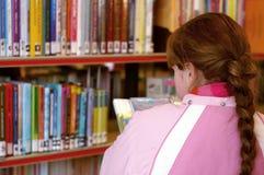 À la bibliothèque Image libre de droits