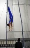 À la gymnastique Photographie stock