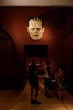 À la maison avec des monstres Photos stock