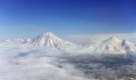 ` À la maison s de volcan de ` de ` photo libre de droits