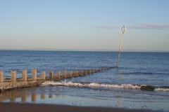 À la mer Image libre de droits