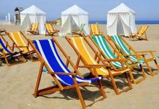 À la plage Images stock