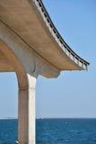 À la plage Photo libre de droits