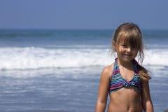 À la plage photos stock