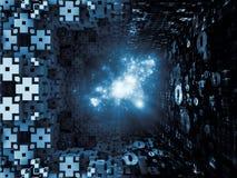 À la recherche des royaumes de fractale Photo libre de droits