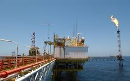 À la recherche du pétrole Images stock