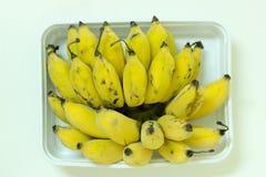 à ¹  leckere frische gelbe Bananen Lizenzfreies Stockfoto