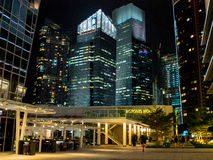 ืnacht in Singapore Royalty-vrije Stock Foto