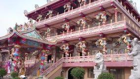ืnajasaataichue chinesischer Tempel, Pattaya-Stadt stock footage