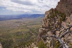 À partir du dessus de la montagne de coeur Photos stock