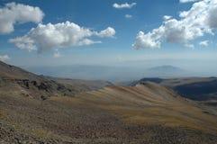 à picareta de Aragats Fotografia de Stock Royalty Free