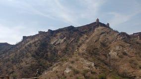 À pleine vue du fort de jaigarh photo stock