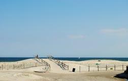 À praia Fotografia de Stock Royalty Free