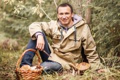À sélectionner des champignons image libre de droits