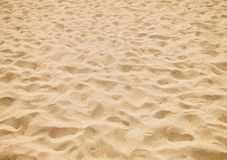 À sable jaune Photos libres de droits