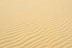 À sable jaune Image stock