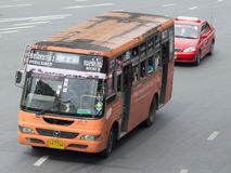 ึ77 Sathupradit - stazione degli autobus nordica Fotografia Stock Libera da Diritti