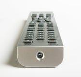 À télécommande de TV d'isolement Photos libres de droits