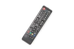 À télécommande de TV d'isolement sur le fond blanc Photographie stock libre de droits