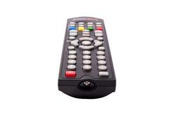 À télécommande de TV d'isolement sur le fond blanc Images libres de droits