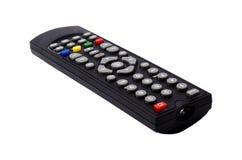 À télécommande de TV d'isolement sur le fond blanc Photos libres de droits