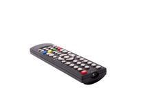 À télécommande de TV d'isolement sur le fond blanc Avec couper la PA Photos stock