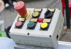 À télécommande pour le début et l'arrêt Photographie stock libre de droits