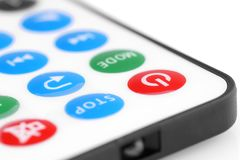 À télécommande pour les dispositifs audio Image libre de droits