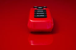 À télécommande rouge Image libre de droits