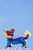 à tête de dragon Images stock