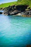 À travers l'eau Photographie stock libre de droits