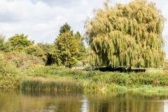À travers la rivière Trent Swalkstone Photo stock