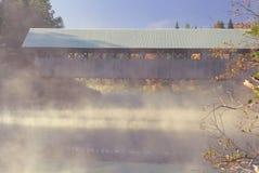 À travers le brouillard d'automne Images libres de droits