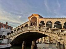 À Venise Image libre de droits