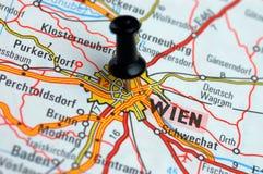 À Wien sur le football Photos libres de droits