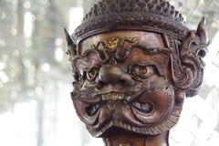 à ¹  Yak statue& x28; Tajlandzki & x27; s gigant x29 lub titan&; Zdjęcia Royalty Free