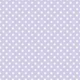 Às bolinhas brancos pequenos na cor pastel da alfazema Fotos de Stock Royalty Free