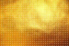 Às bolinhas em shinning o fundo abstrato digital criativo luxuoso dourado do teste padrão da textura Elemento do projeto ilustração stock