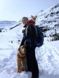 Às vezes a neve é demasiado profunda! Foto de Stock Royalty Free