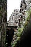 """Áž"""" ាយ័ហ""""för ` för áŸ'រាសាហför Bayon en khmeráž"""", Prasat Bayon är ett tempelkomplex i mitten av Angkor Thom royaltyfri bild"""
