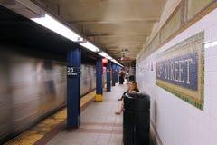 2á estação da rua, New York Imagem de Stock