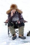 A á pesca de Baikal Foto de Stock Royalty Free