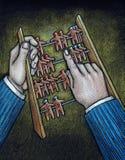 Ábaco stock de ilustración