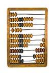 Ábaco antiguo para calcular Imágenes de archivo libres de regalías