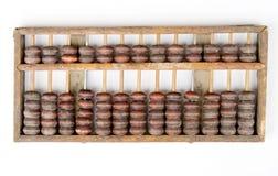 Ábaco chino Imagen de archivo libre de regalías