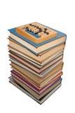 Ábaco de madera fotografía de archivo